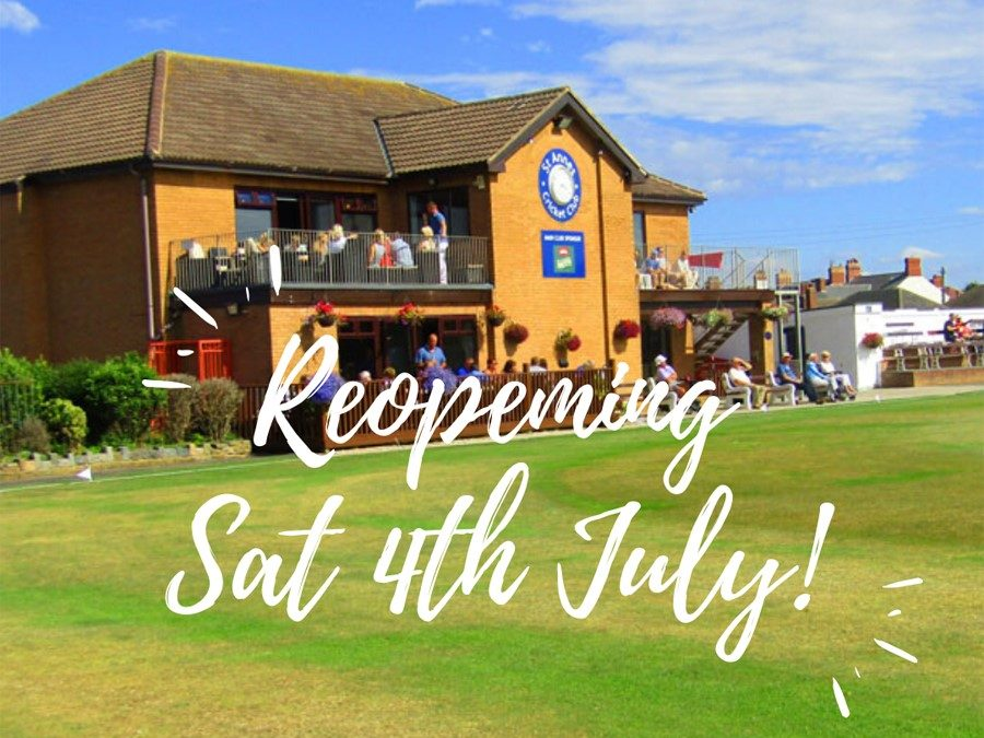 Exciting News: We're Re-Opening On Sat 4 July!
