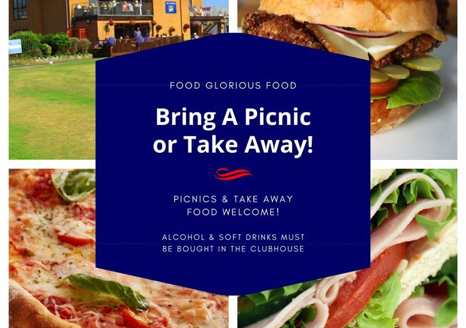 Bring a picnic or order a take away from Sat 4 July