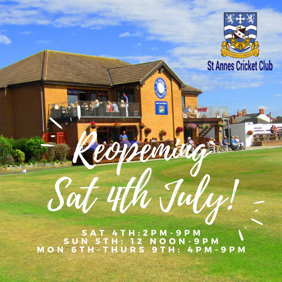Opening hours & guidance for Members on Sat 4 July 2020