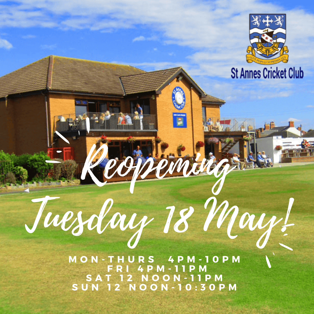 We're re-opening on Tuesday 18 May 2021!