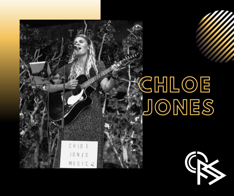 Chloe Jones - singer songwriter - Front of Stage Events