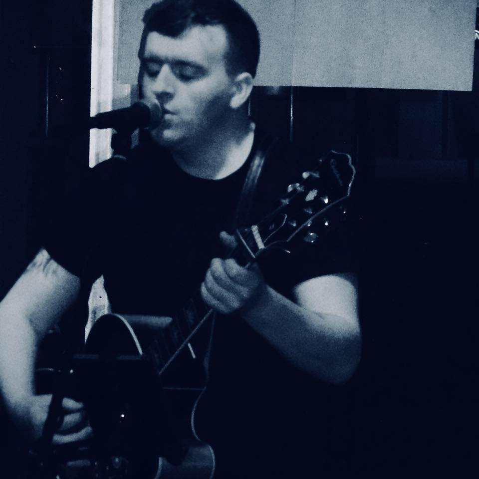 Jordan Dennison - singer songwriter - Front of Stage Events