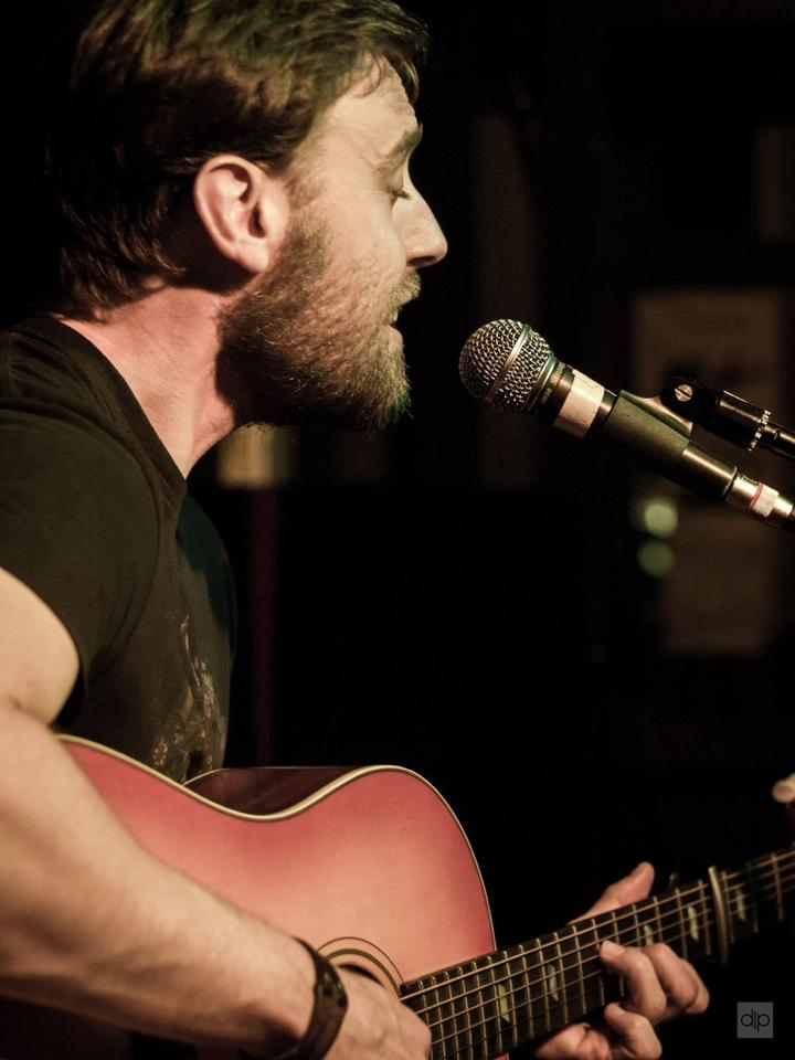 Liam Blake - singer songwriter - Front of Stage Events