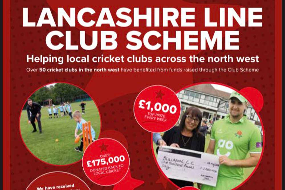 Join our Lancashire Line Lottery - top prize of £1000 per week!