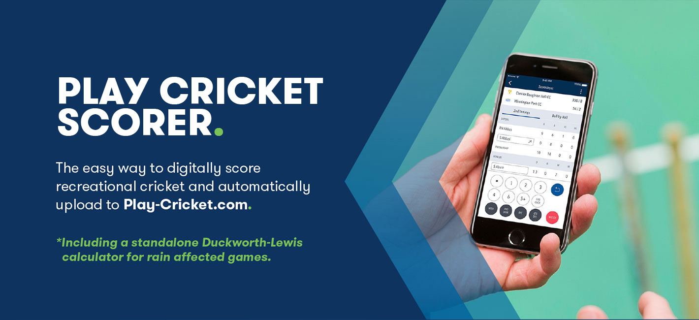 Learn how to score using the Play Cricket Scorer App