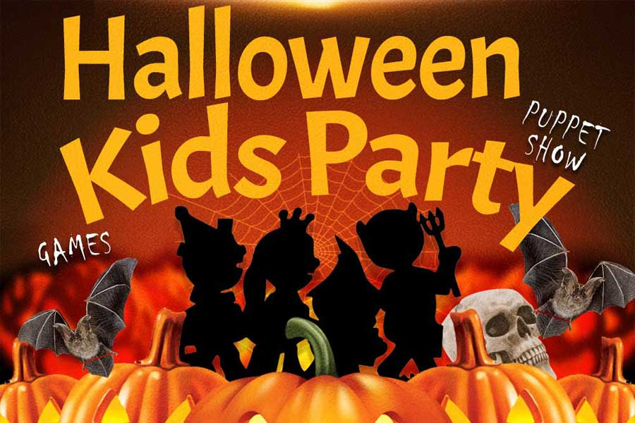 SPOOKY FUN! Kids Halloween Party – Sat 30 Oct 2021